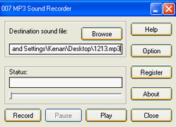 007 MP3 Sound Recorder 1.20
