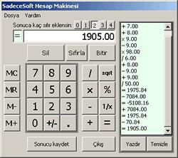 1ss Hesap Makinesi 1.0