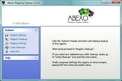 Abexo Registry Cleaner 5.3.1