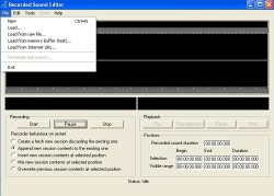Active Sound Recorder for .NET 3.0