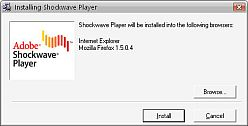 Adobe Shockwave Player 12.1.1.151