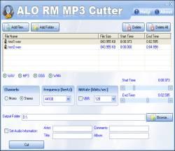 ALO RM MP3 Cutter 7.0