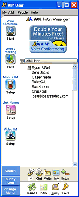 AOL Instant Messenger (AIM) 7.1.6.4