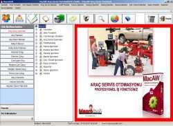 Araç Servis Otomasyonu MacAW  MacroSoft 4.0.0