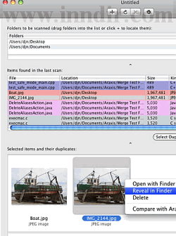 Araxis Find Duplicate Files (Macintosh) 2009.90