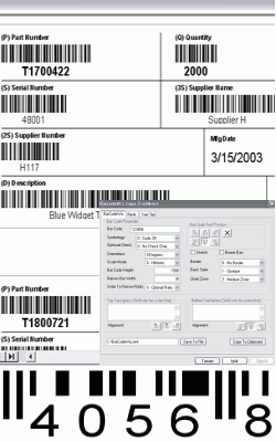 BarCodeWiz Barcode ActiveX Control 4.12