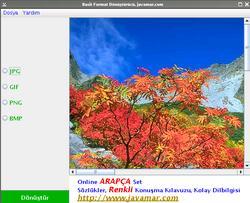 Basit Resim Format Dönüştürücü 1.0
