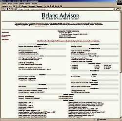 Belarc Advisor 7.2x