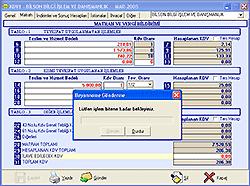 Bfd e-Beyanname Programı 2009.05.12