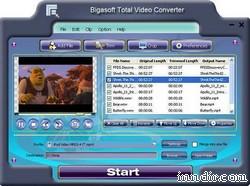 Bigasoft Total Video Converter 2.2.3.3869