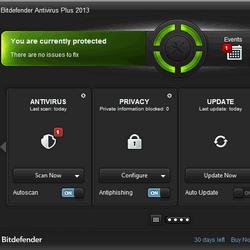 BitDefender Antivirus Plus 2013 16.27.0.1763