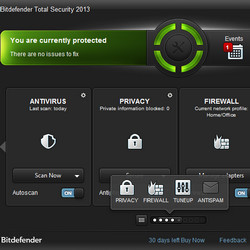 BitDefender Total Security 2013 16.26.0.1739