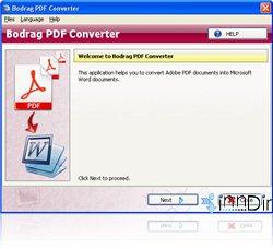 Bodrag PDF Converter 1.00