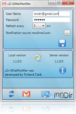 c2i GmailNotifier 1.1.0.0
