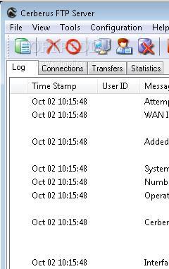 Cerberus FTP Server 7.0