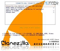 Clonezilla Live 1.2.12.37