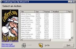 CoffeeCup Free Zip Wizard 3.0
