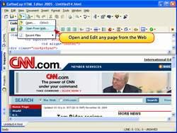 CoffeeCup HTML Editor 2008
