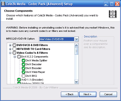 Cole2k Media Codec Pack (Advanced) 7.9.6