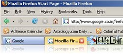 ColorfulTabs for Firefox 4.4