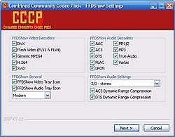 Combined Community Codec Pack 2010-10-09 Beta