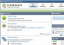 Comodo Internet Security 5.0.32580.1142