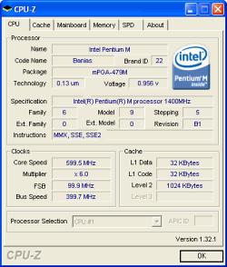 CPU-Z 1.56