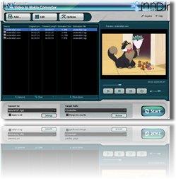 Daniusoft Video to Nokia Converter 2.1.0.33