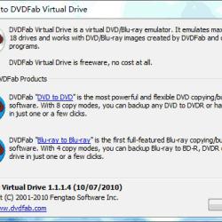 DVDFab Virtual Drive 1.3.9.0