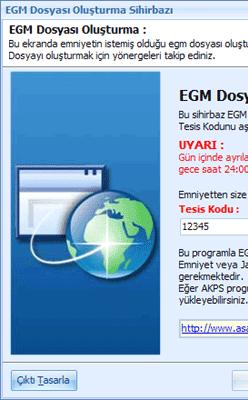 E.B.S. Kimlik Bildirim Programı 4.0.1
