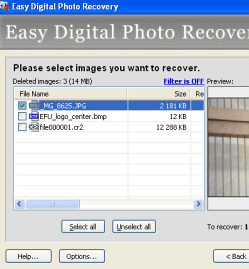 Easy Digital Photo Recovery 1.3