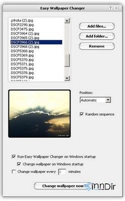 Easy Wallpaper Changer 2.0