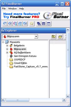 FinalBurner FREE 2.16.0.176