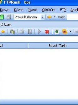 FTPRush Türkçe Yama 2.1.2