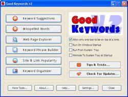 Good Keywords 3.0