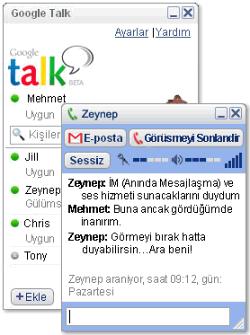 Google Talk (Türkçe) 1.0.0.105