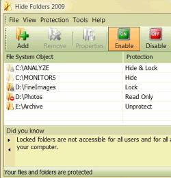 Hide Folders 2012 4.0.7