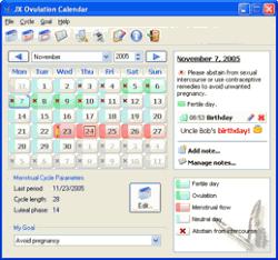 JX Ovulation Calendar 2.3.264