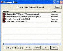 Keylogger Killer 1.5