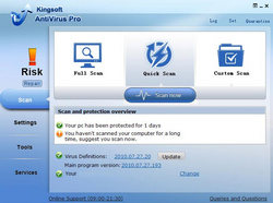 Kingsoft Free Antivirus 2010.11.06.318