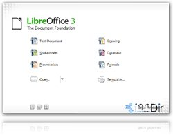LibreOffice (Linux) 3.4.3