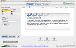 LimeWire Basic (Macintosh) 5.4.8