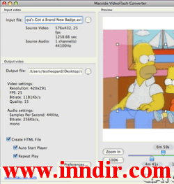 Macvide VideoFlash Converter (Mac) 2.3