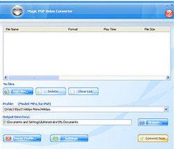 Magic PSP Video Converter 8 Plus