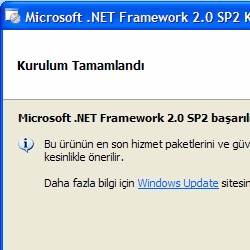 Microsoft .NET Framework  2.0 SP2