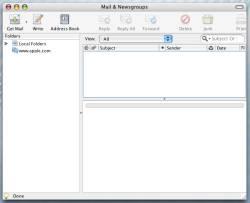 Mozilla Thunderbird (Macintosh) 3.1.2