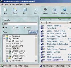 MP3 CD Converter 4.0.0