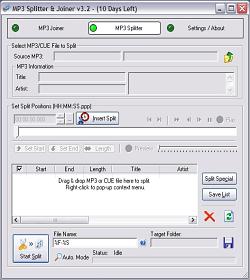 MP3 Splitter & Joiner 3.32