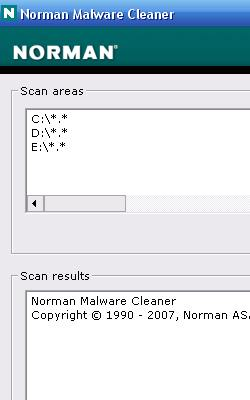 Norman Malware Cleaner 1.8.3 (2011.17.01)