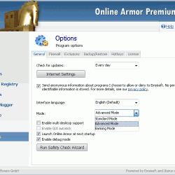 Online Armor Premium Firewall 5.5.0.1616